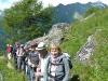 Aufstieg Sajathütte