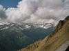 Ausblick von der Sajathütte
