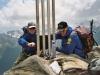 Gipfel der Roten Säule (2820m)
