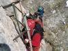Anstieg über Leitern