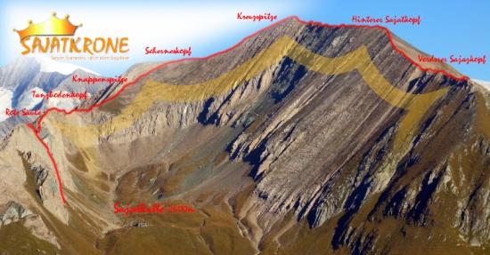 "Gipfeltraum ""Sajatkrone"" Seven Summits über dem Sajatkar"